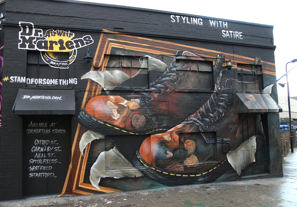 Dr Martens - Hogarth boot, great eastern st 2015