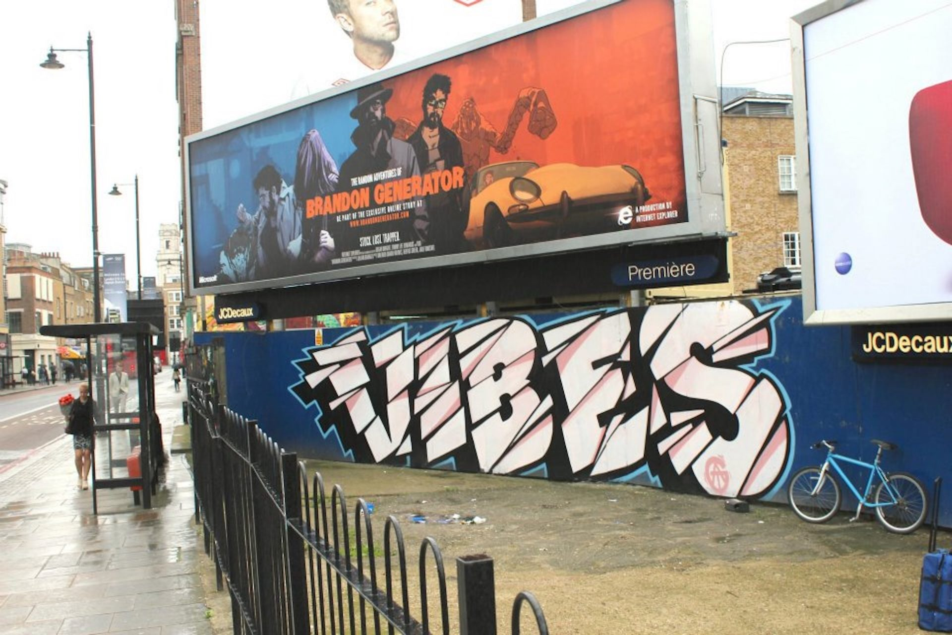 old street with nychos 2013