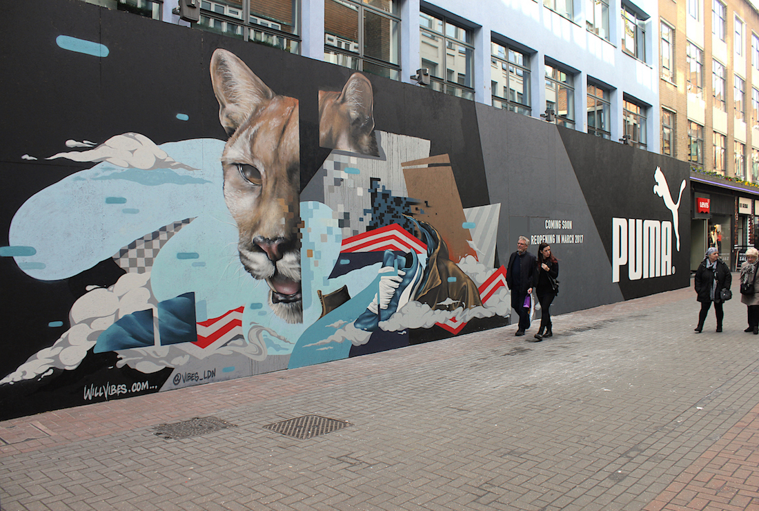 front view puma carnaby street